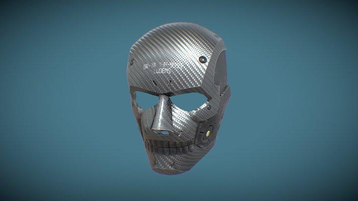 Death Stranding Ludens Mask 3D Model