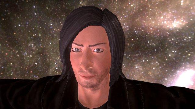 Alan Rickman 3D Model