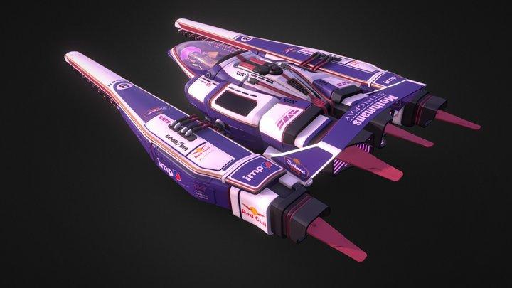 Mothman's Stingray 3D Model