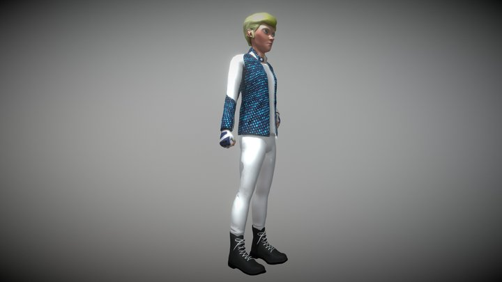 Jake Silph 3D Model