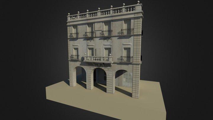 Consulado del Mar, Alicante (Spain) 3D Model