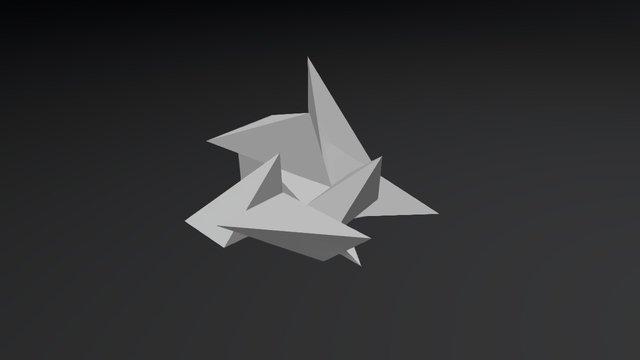 Paper Pyramids 3D Model