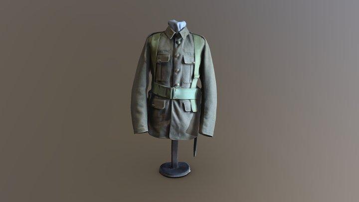 WWI uniform 3D Model