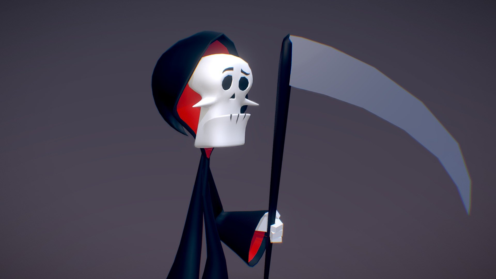 Grim Adventures Of Billy And Mandy 3d Model By Gloriatheanimator