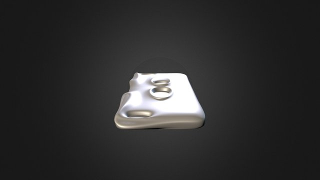 Iphone_6Plus_Case_Option 03 3D Model
