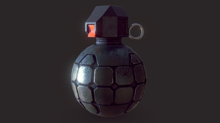 Halo Frag by AbiSV 3D Model