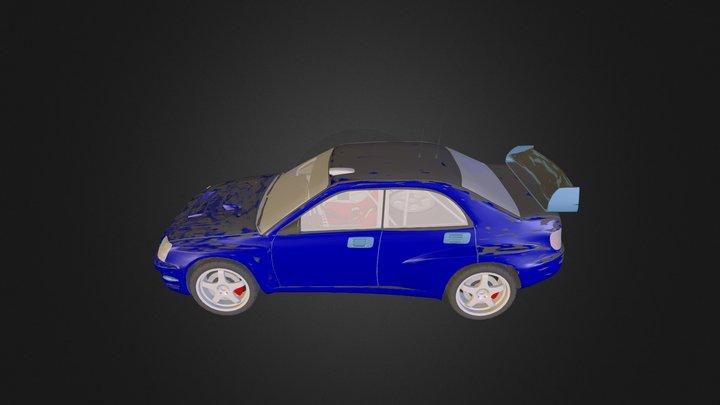 Car subaru impreza xform N241113 3D Model