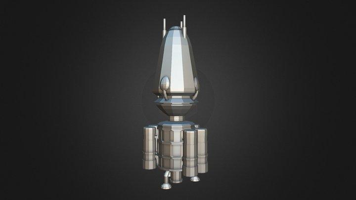 Star Wars: Geonosis Build Prop. 3D Model