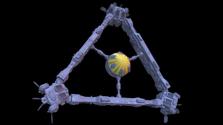 Leif Erikson 3D Model