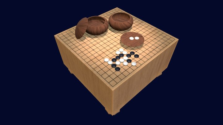 Black to play 3D Model