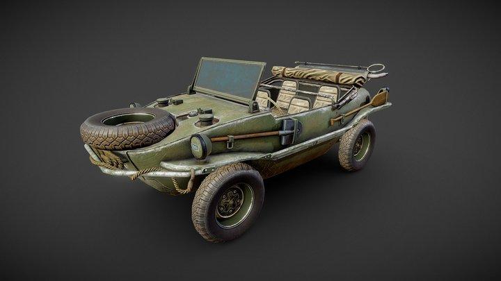 Schwimmwagen 3D Model