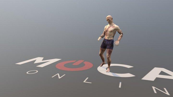 Daz3D Zombie Animation P1 - Michael 8 3D Model