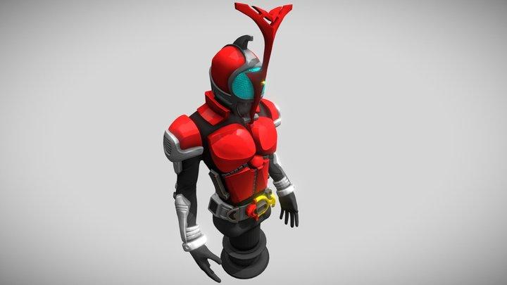 Z Sculpt - Kamen Rider Kabuto 3D Model