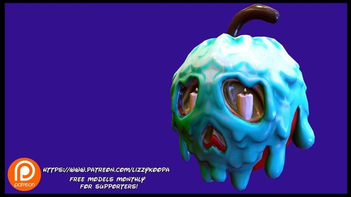 Bad Apple 3D Model