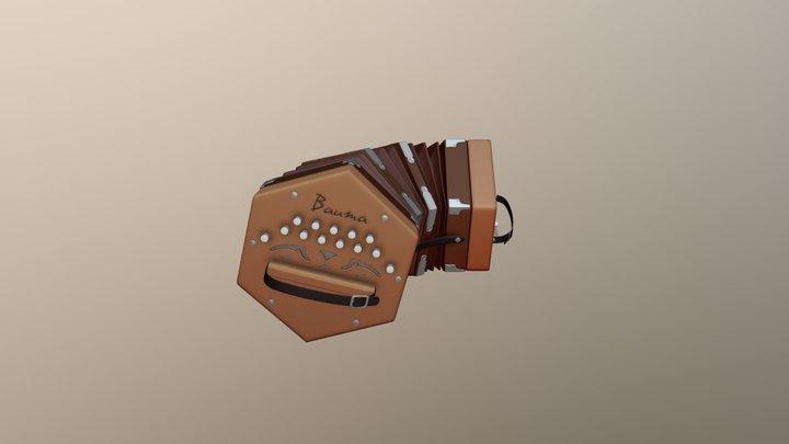 Concertina Bauma 3D Model