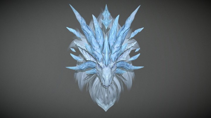 dragon head_3 3D Model