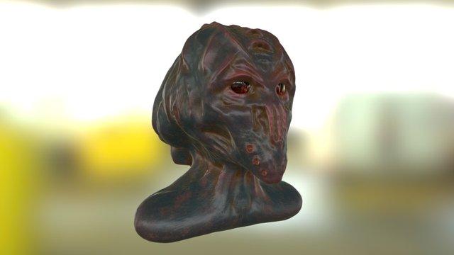 Alien Test 3D Model