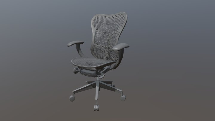 Herman Miller mirra 2 3D Model