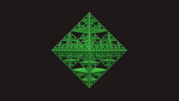 Sierpinski Diamond 3D Model