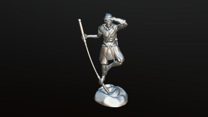 Model #7 Monkey king 3D Model