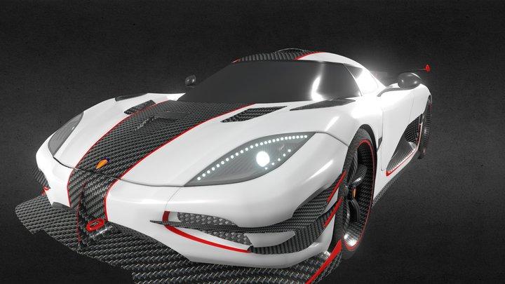 Koenigsegg One 3D Model