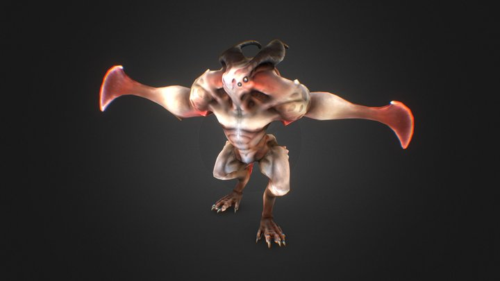Creature01 3D Model