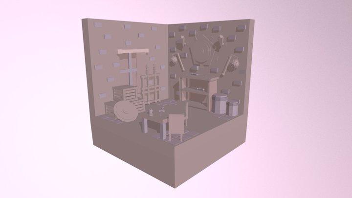 Weapons Lowpoly 3D Model