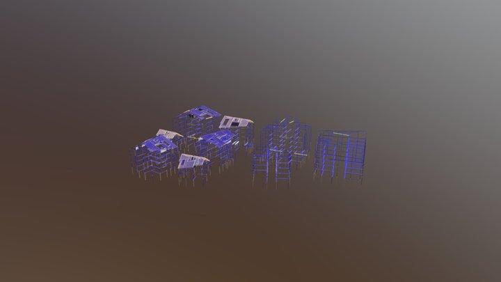 B6a_Takverk_IKKE_BRUKE 3D Model