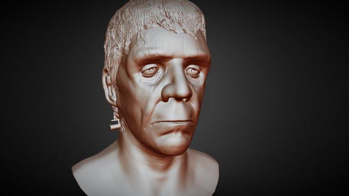 The Monster Of Frankenstein 3D Model