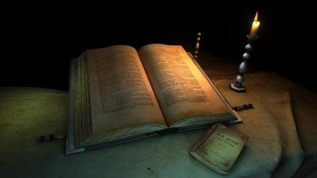 Van gogh Bible 3D Model