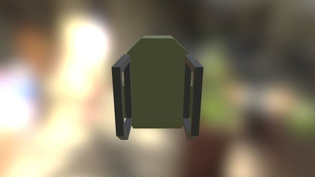Backpack #1 - Patch 3.3 3D Model