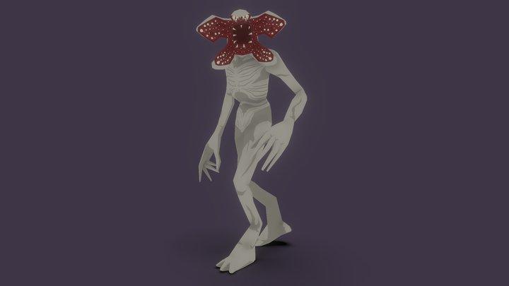 Stranger Things Demogorgon 3D Model
