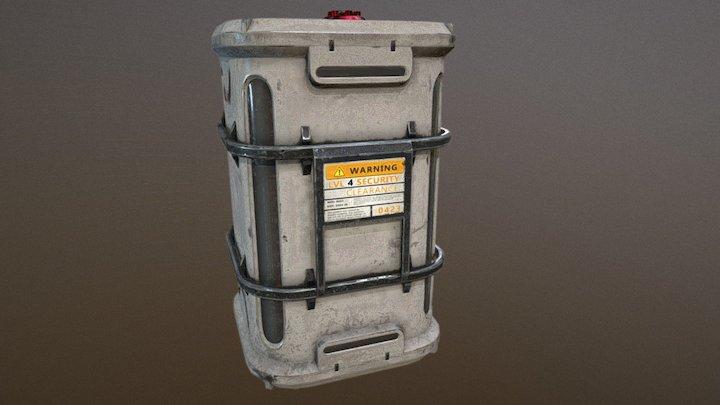 Barrel2 3D Model
