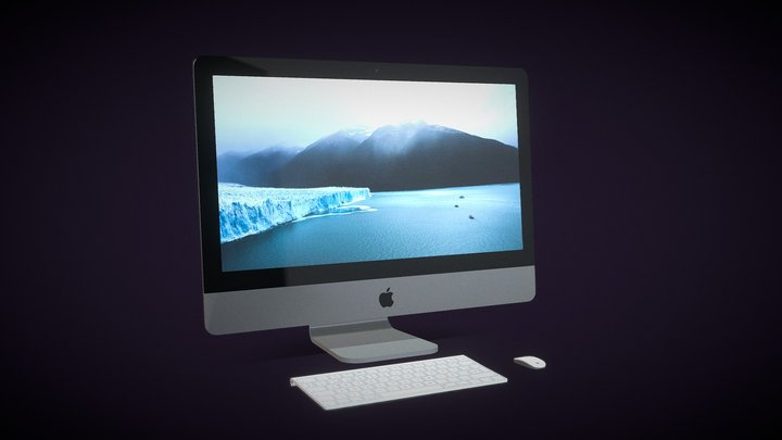iMac 3D Model | [FREE] | Agustin Honnun 3D Model
