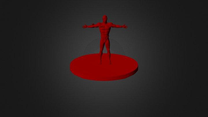 Superhuman 3D Model