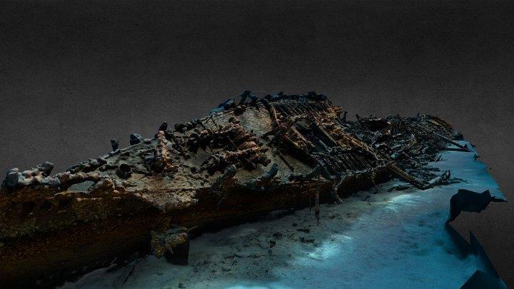 SS Le Polynesien 3D Model