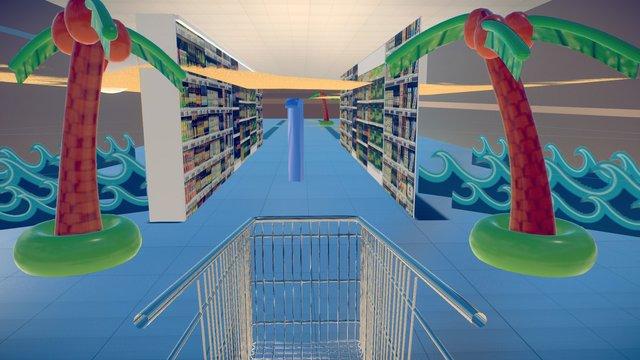 Walmart01 3D Model