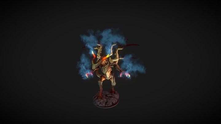Demon Lord 3D Model