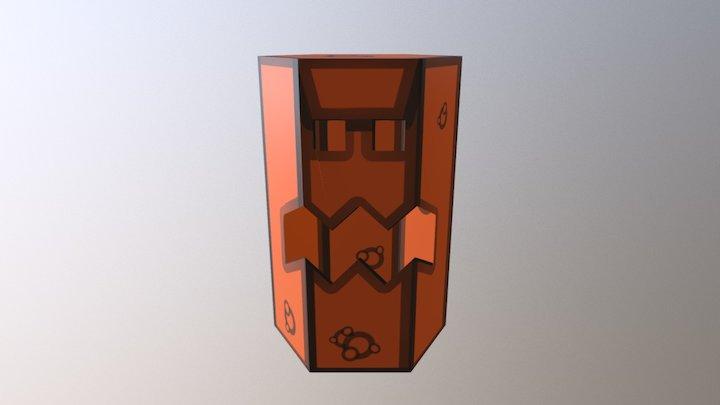 Calabaza Prismática 3D Model