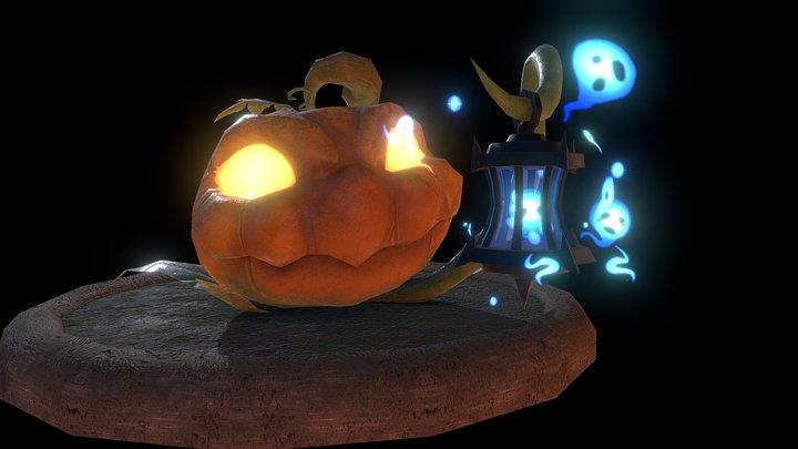 Pumpkit - Hermit of Souls 3D Model
