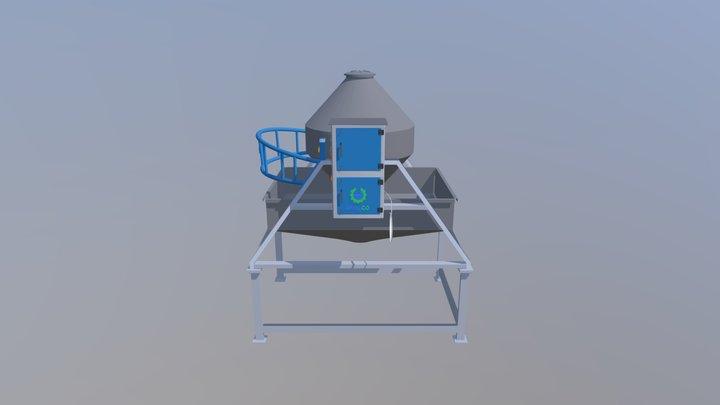 Solid materials blender 3D Model