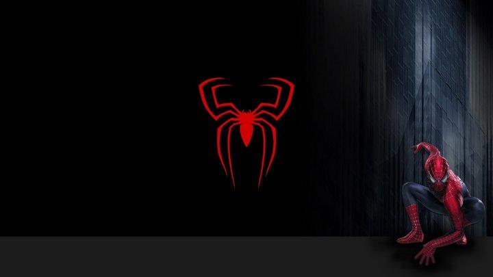 Logo Spider-man 3D Model