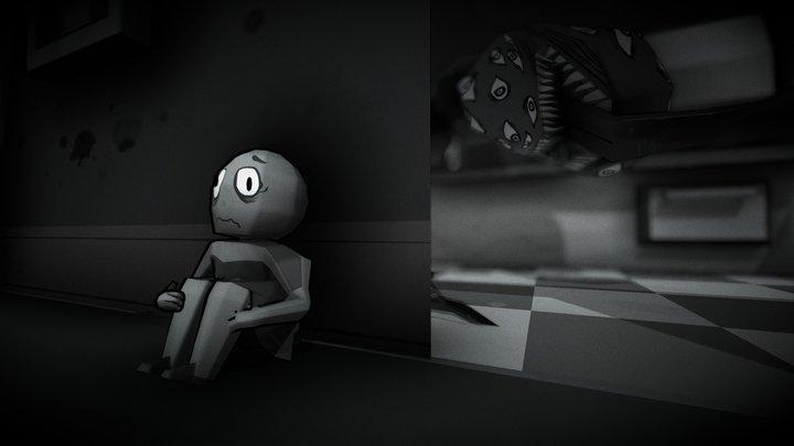 Fridge Horror 3D Model