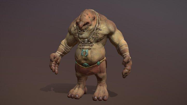 The Troll 3D Model