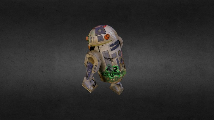 Neglected Droid 3D Model