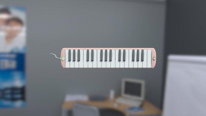 Princess Peppermint's Magical Melodica 3D Model