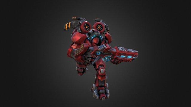 FORCED SHOWDOWN - Setsu 3D Model