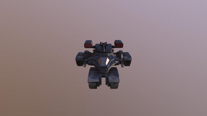 AntiAircraft 3D Model