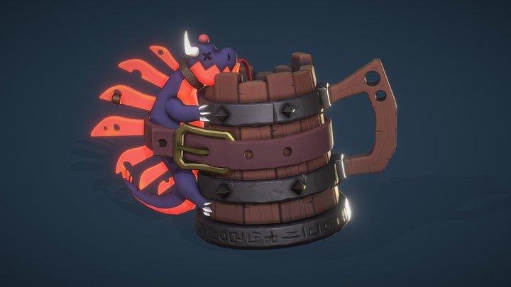 Dragon Tankard 3D Model