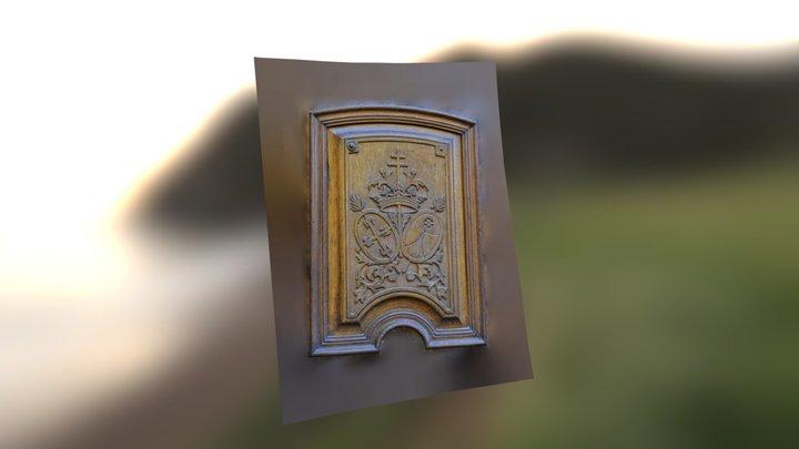 Puerta Archivo Huesca 3D Model